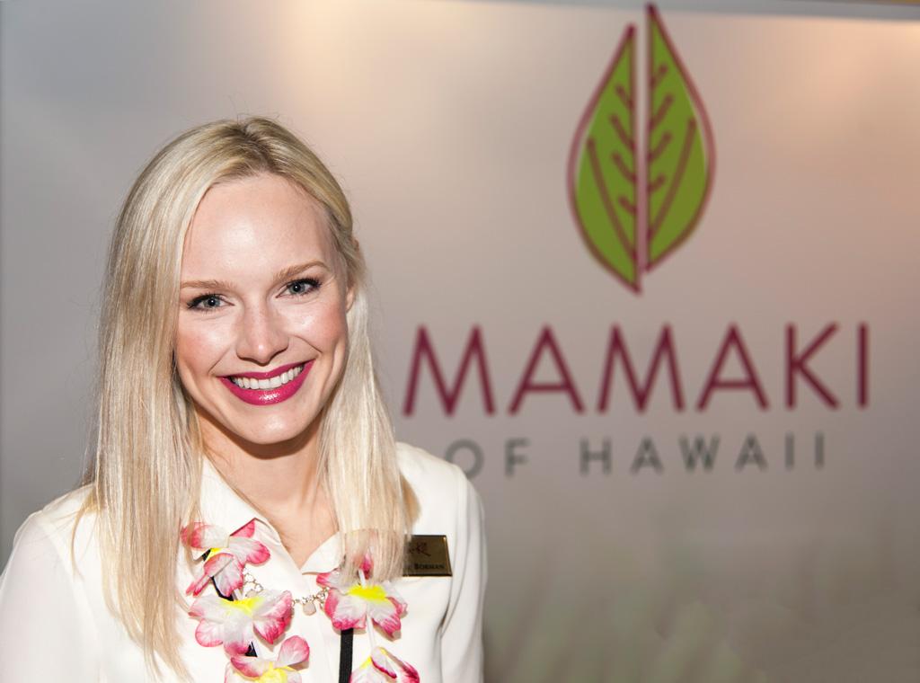 Mamaki of Hawaii at 2014 World Tea Expo
